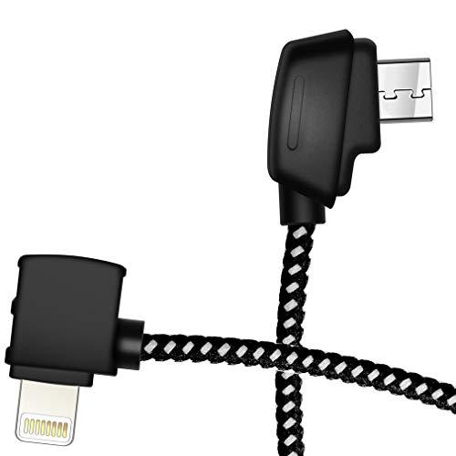 Cable 9cm Micro AB - iOS (DJI Mavic Mini/Mavic 2 Pro Zoom)