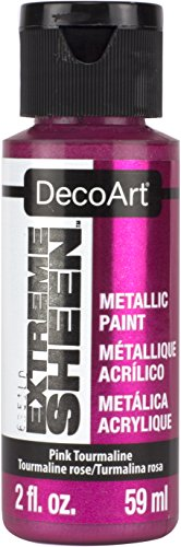 (DecoArt 2 Ounce, Pink Tourmaline Extreme Sheen Paint )