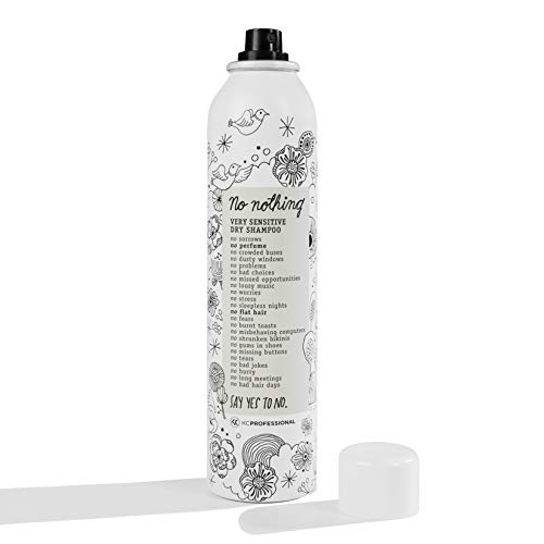 No nothing Very Sensitive Dry Shampoo - Fragrance Free Dry Shampoo, 100% Vegan, Hypoallergenic, Unscented, Gluten Free, Soy Free, 5.3 oz 3