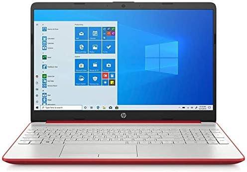 2021 HP 15.6″ HD Laptop Computer Intel Dual-Core Pentium 6405U Processor 4GB RAM 500GB HDD Intel UHD Graphics HD Webcam Bluetooth RJ-45 USB-C HDMI Windows 10 Scarlet Red RE 32GB USB 3.0 Flash Drive