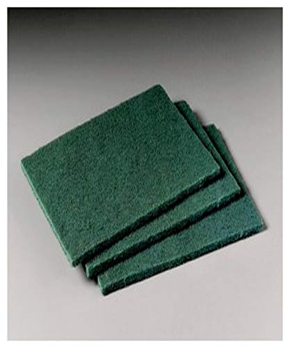 3M 50048011082931 Scotch Brite 96 General Purpose Scouring Pad, 1 Pounds Capacity, Volume, Standard, Green (Pack of 60)