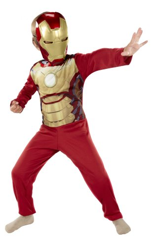Iron Man Mask & Jumpsuit (Boys, Size 4-6X)