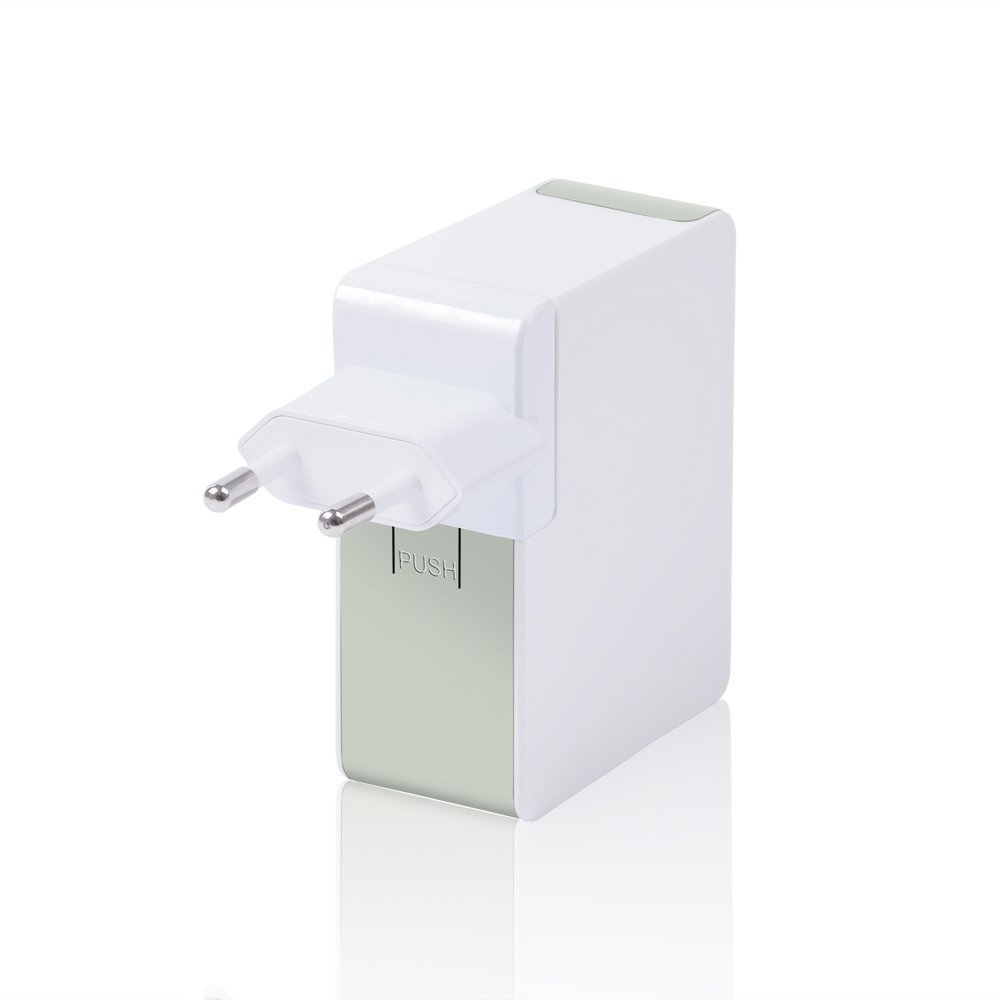 Top-Longer 5V 8A Portable 4-Port USB Wall Charger Universal USB Travel Charger with UK//US//EU International Plug Adapters Smart Quick Charger Dongguan Guangshu Electrical Technology Co Ltd P050I8000