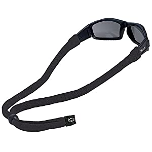 Chums Original Cotton Large End Eyewear Retainer, Black