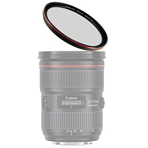 Coolen 40.5mm MRC Multi-Coated UV Filter Red Compatible with Samsung 20-50mm f3.5-5.6 ED NX3000 NX2000 NX1100 NX1000 NX300M NX300 NX210 NX200 NX110 NX100 NX30 NX10/Olympus Pen E-P1 EP-2 E-PL1 14-42mm (Samsung Nx1000 Accessories)