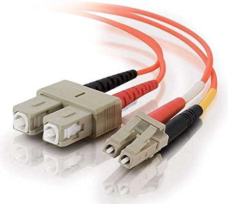 Cables To Go Cavo Patch in fibra di vetro presa LC//SC Duplex, 62,5//125, Multimode, 1 m