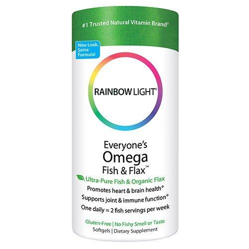 Rainbow Light - Everyone's Omega Fish & Flax, Supports a Hea