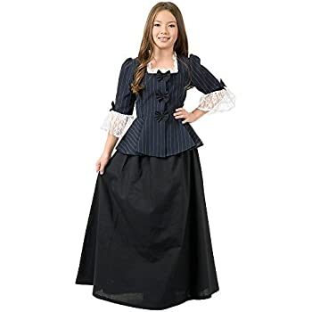 Masquerade Ball Clothing: Masks, Gowns, Tuxedos Charades Childs Colonial Girl Costume Dress Medium $31.14 AT vintagedancer.com