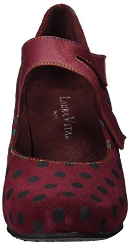 Laura Vita Ladies Candice 21 Mary Jane Low Shoes Red (vino)