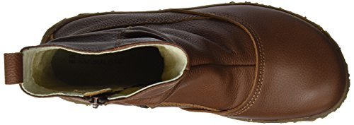 Soft Stivaletti Nido Wood Marrone Naturalista Donna N722 El Grain SXHZEwq