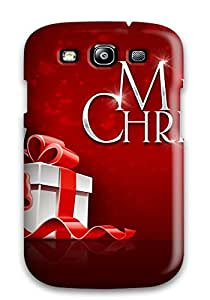 Galaxy S3 Xmas Vs. Christmas Print High Quality Tpu Gel Frame Case Cover