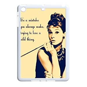 Audrey Hepburn Quotes Classic Personalized Phone Case for Ipad Mini,custom cover case ygtg-782399