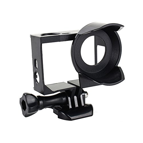 Standard Protective Frame with Lens Hood For GoPro Hero 4 3 3+ - 2
