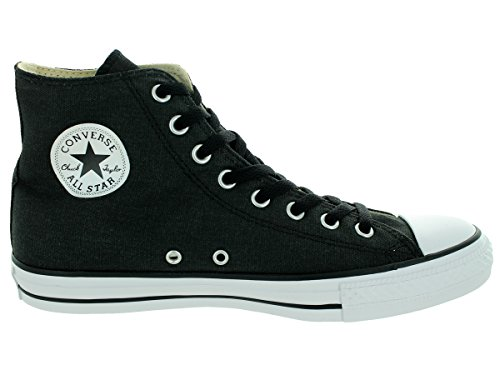 Color Casual in Converse Style Taylor Star Black Durable Sneakers Canvas High Black and Top Unisex Uppers Classic All Chuck and CCgOwSxq0
