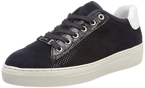 Ara Blu Donna weiss blu Sneaker Courtyard Midnight rnT4WU6rH