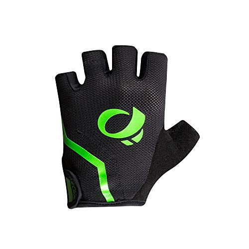 Pearl iZUMi Select Glove, Black/Screaming Green, Large