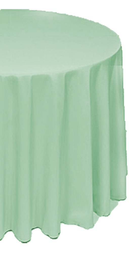 Amazoncom A1 Tablecloth Company Round 120Inch Polyester Table