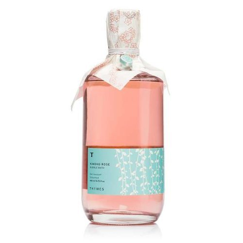 The Thymes Vanilla Body Wash (Thymes Kimono Rose Bubble Bath)
