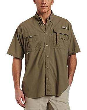 Sportswear Men's Bahama II Short Sleeve Light Fishing Hiking Work Shirt