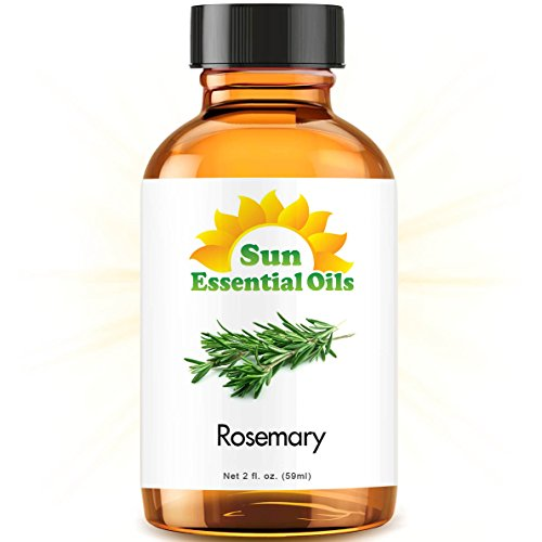 Rosemary (2 fl oz) Best Essential Oil - 2 ounces (59ml)