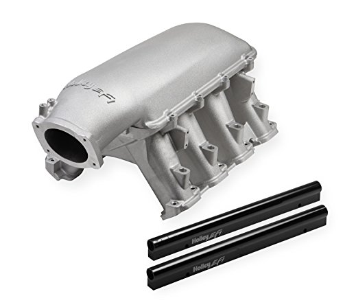 Manifold Intake Lt1 - Weiand 300-141 Hi-Ram Intake Manifold Fits w/GM Gen 5 LT1 w/92mm LS Throttle Body Power Band 3500-8000 RPM Incl. Port EFI Provisions And Fuel Rails Hi-Ram Intake Manifold