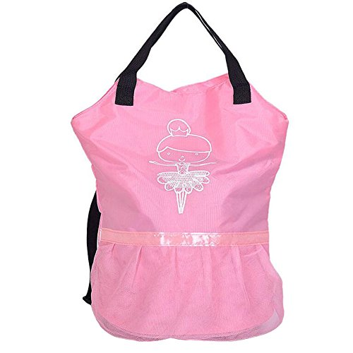 George Jimmy Kids Ballet Dance Bags Travel Backpack School Bags Girls Backpacks Book Bag Pink by George Jimmy
