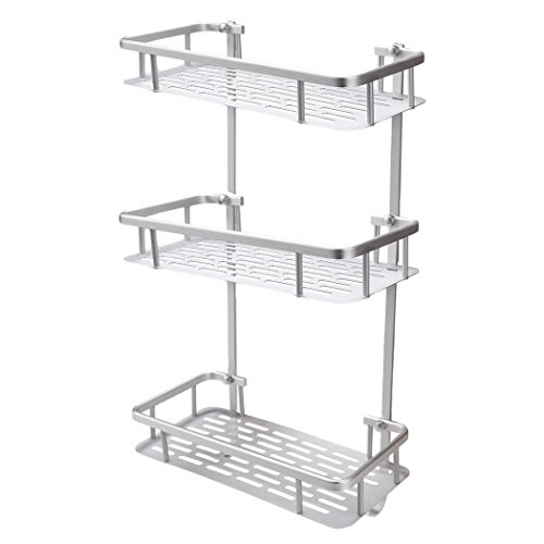 40%OFF Cheesea 40 Tiers Heavy Duty And Rustproof Aluminum Bathroom Enchanting Baskets For Corner Shelves
