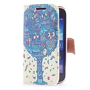 GJY Dragon Tree Style Leather Case with Card Slot and Stand for Samsung Galaxy Ace 3 S7270 /S7275/ S7272