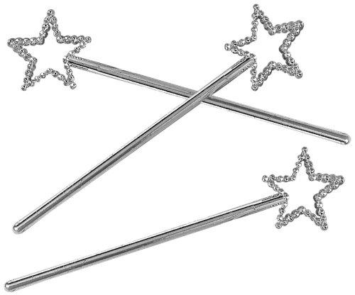 AMSCAN International - Set di 12 bacchette magiche da principessa 390372