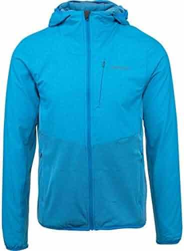 a5b77109682 Merrell TrekPro Mid-Layer Hooded Full Zip Jacket Men L Indigo Bunting
