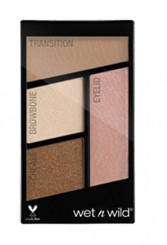 Wet N Wild Color Icon Eyeshadow Quad ~ Walking on Eggshells 340B