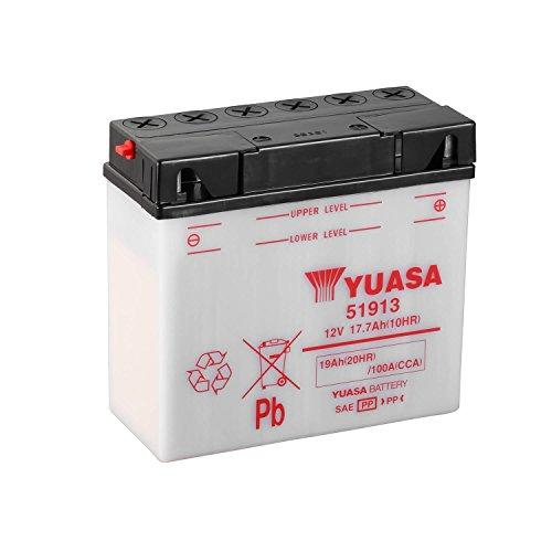 Yuasa-61348: batteria Yuasa 51913 Combipack, elettroliti)