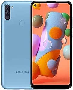 """Samsung SM-A115 Dual SIM Galaxy A11 Smartphone, 2GB RAM, 32GB ROM, 6.4"""", Blue"""