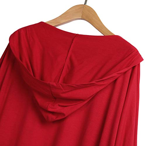 Spbamboo Womens Cardigan Oversize Long Jacket Open Front Bat Sleeve Coat Outwear by Spbamboo (Image #6)