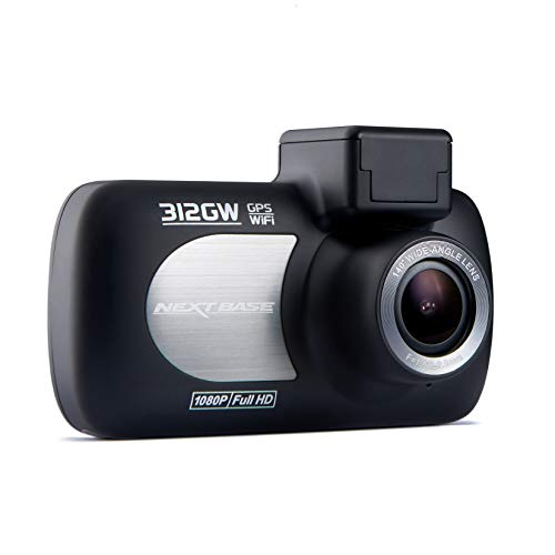 Digital Video Dvr - Nextbase 312GW Full 1080p HD in Car Dash Cam Camera DVR Digital Driving Video Recorder with Built-in Wi-Fi (37mm inc Lens) - Black