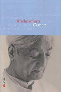 Carnets par Krishnamurti