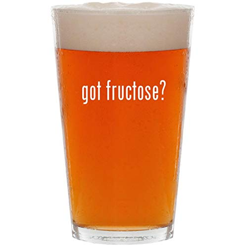 got fructose? - 16oz All Purpose Pint Beer Glass - Estee Crystal Powder