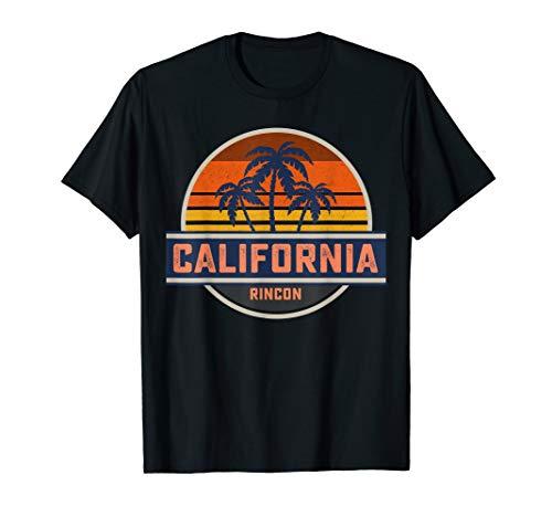 Retro California Rincon Point Shirt Surf Vintage Beach Gift T-Shirt