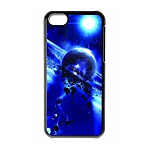 Back Case Durable Celestial body Case For iphone 5cC