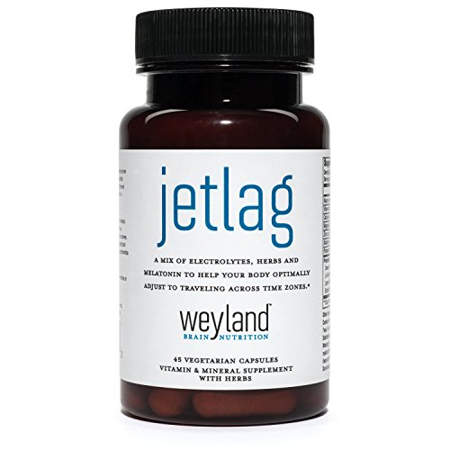 Jet Lag Recovery – Designed to Help Your Body Optimally Adjust to Traveling Across Time Zones (w/ Melatonin & Herbs)*