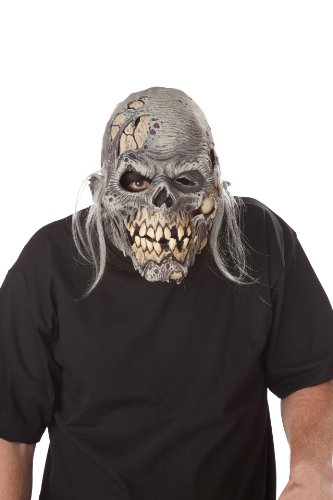 (California Costumes Men's Ani-Motion Masks - Muckmouth Ripper Mask, Cream, One)