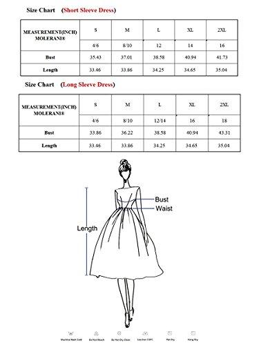 Poche Simple Plaine Occasionnel Des Femmes Molerani T-shirt Mauve Robe Lâche
