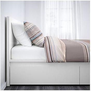 Amazon Com Ikea Malm White Twin Size Bed Frame Height