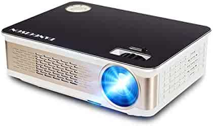 TANGCISON Projector - 3300 LUX LED Projector, Video Projector with 150