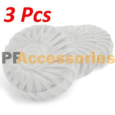 3 Pcs Automatic Bleach Toilet Bowl Tank Cleaner White Tablets Flush Cleaner