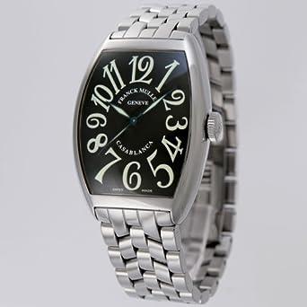 detailed look c4bd8 cd4d3 Amazon | フランクミュラー メンズ腕時計 カサブランカ 6850CASA ...