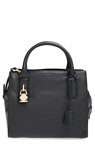 Michael Kors Mckenna Medium Satchel in Black