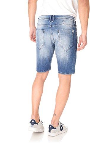 Bermuda jeans uomo Antony Morato denim blu