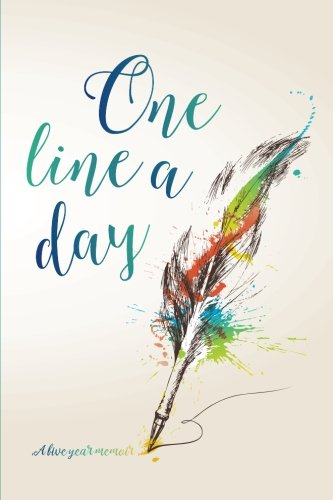 One Line a Day Journal: A Five Year Memoir: 6x9 Lined Diary (Journals, Notebooks and Diaries)