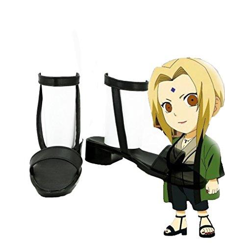 Anime Cosplay NARUTO Anime NARUTO Tsunade Tsunade Boots Cosplay Made Custom Shoes 4qAd5qx